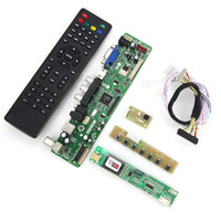Wholesale Vga Lvds Controller - Wholesale-T.VST59.03 LCD LED Controller Driver Board For B154EW02 V7 LP154WX4-TLC3 (TV+HDMI+VGA+CVBS+USB) DS Reuse Laptop 1280x800