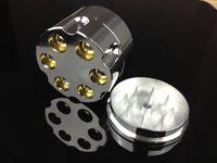 neue tabak kräuterschleifer großhandel-Neue Design Bullet Form Kräuter Herb Tobacco Grinder Materal Rauchmühlen Hand Muller Magnetic