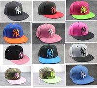 Wholesale Ny Snapbacks - hot sale Hip-hop Hat Christmas Gifts Men and Women Ball Caps NY snapbacks Baseball Caps Snapbacks Hats Adjustable Cap D338