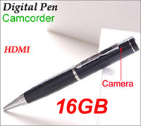 Wholesale pen camera detection for sale - GB p high quality M pixel P digital pen camcorder mini dvr camera HDMI output With motion detection