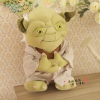 Wholesale Stuffed Toys Wholesale Seller - 100pcs China Best Sellers Star Wars Yoda 8inch 20cm Plush Toys Cosplay Costume Soft Stuffed Doll Toy The Children's Gift High Quality