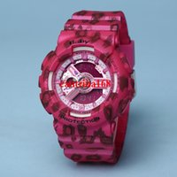 Wholesale Baby Dates - AAA Top Quality luxury BABY Women sport watch LED watches Waterproof watches G woman watches with Box