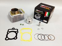 Wholesale Cool Motorcycles For Sale - Free Shipping NASAKI Supply Quality Motorcycle CG150 Cylinder Kit(Cylinder Piston Piston Ring Pin Gaskit Valve Seal)Kit for sale