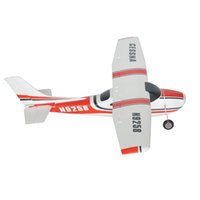 Wholesale Rc Radio Kit - Wholesale-RC Small cessna182-800 frame kit model aircraft N9258 radio controlled model aircraft remote control airplane