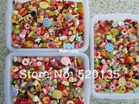 Wholesale cabochon mix - 1509 Free Shipping! Min. order is $10 (mix order), Mix Cute Food, Resin Cabochon for Phone Deco, DIY
