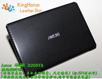 """Wholesale Asus Laptop Skin Cover Carbon - KH Laptop Special Carbon Crocodile Snake Rust Leather Cover Sticker Skin Protector For Asus X205TA 11"""""""