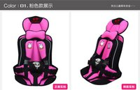 Wholesale Toddler Baby Car Seats Safety - Baby Car Safety Seat 0-6 Years Old Portable Child Car Safety Seat Kids Car Seat Chairs for Children Toddlers Car Seat Cover Harness