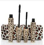 mascara léopard livraison gratuite achat en gros de-80 Pcs New Étanche AMOUR ALPHA Double Marque Mascara avec Panther Leopard Case Mascaras 1 Set = 2 Pcs Livraison DHL Gratuite