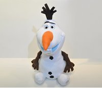 Wholesale Princess Baby Stuff - 2015 Frozen 22cm OLAF plush toys Snowman Doll cartoon Movie Stuffed Princess Elsa Anna Kristoff Trolls Milu baby Toy