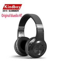Wholesale Headset Wireless For Telephone - Original bluedio HT Wireless Bluetooth headphones for computer Headset mobile phone PC telephone bludio with Microphone headband