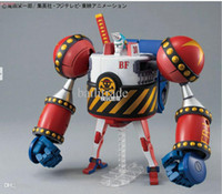 Wholesale Bandai 12 - Wholesale-Bandai japanese anime franky one piece figure doll assembling model toy classic toys boys marvel action figures Christmas gifts