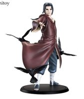 Наруто Uchiha Itachi 1/8 Scale Painted Figure Uchiha Itachi Brinquedos Anime PVC Action Figure Коллекционная игрушка модели 17 см KT3403