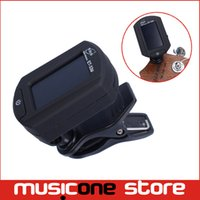 Wholesale Guitar Tuner Clip Eno - ENO ET-33U Clip on Digital Tuner for Ukulele Black Chromatic Guitar tuner Free shippingMU0098
