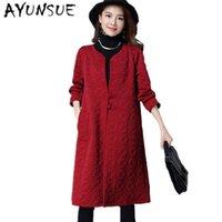 ingrosso trincea delle donne cinesi-Vintage stile cinese vino rosso giacca a vento donne trench para come mulher cappotto femminile primavera autunno femminile cappotti FYY259