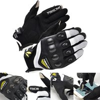 Wholesale Motorcycle Gloves Taichi - 2016 New RS-TAICHI RST 418 spring summer short paragraph motorcycle racing gloves carbon fiber mesh motorbike glove size M L XL