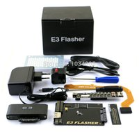 Wholesale E3 Card - Original E3 Flasher Limited edition for ps3 including 11 accessories+E3 card