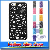 Wholesale Nest Phone Case - NEW Hollow Bird Nest Snap On Hard Back Phone Case Cover For iPhone 5 Phone Cases for iphone 5s Iphone 5 Case