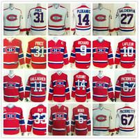 chicos de jersey al por mayor-Juvenil Montreal Canadiens Shea Weber Carey Price Max Pacioretty Galchenyuk Richard Guy Lafleur PATRICK ROY Jerséis de hockey para niños Gallagher