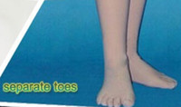 Wholesale Separate Legs - Customize Options for separate toes seamless outside with inner leg zipper instead of back zipper