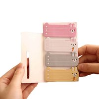 Wholesale Index Sticky Note - Hot sale To Do List Sticker Post It Bookmark Marker Memo Flags Index Tab Sticky Notes Color Random Drop Shipping HG283 order<$18no track