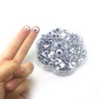 Wholesale Googly Eyes Doll - 700Pcs Box 7 Sizes 4-12mm DIY Round Self-adhesive Wiggly Googly Eyes For Doll Toy C00960