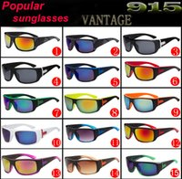 Wholesale multi colour sunglasses resale online - new sunglasses for men sunglasses for women cycling sports sunglasses VANTAGE fashion dazzle colour mirrors glasses sunglasses