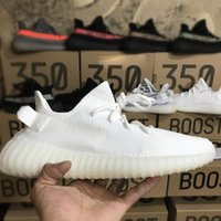 350 Boost V2 Ultra Boosts 3.0 Cream White Zebra Bred Kanye 350 sneaker buy nero zapatillas Uomo Donna Running Shoes Sport Kanye West sneaker