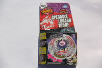 Wholesale Beyblade Metal Fusion Pack - 1 piece BEYBLADE METAL FUSION LIGHTNING L-DRAGO 100HF LAUNCHER PACK Beyblades BB43