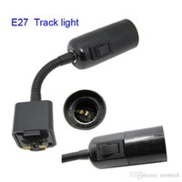 E27 tracking l& holders sockets caps for led track light with Cl& and 6ft 180cm US Plug with ON OFF Switch base holder price  sc 1 st  DHgate.com & Track Light Socket Bulk Prices | Affordable Track Light Socket ... azcodes.com