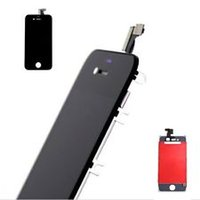 Wholesale Iphone 4s Lcd Digitizer Oem - free DHL shipping Replacement LCD Touch Screen Digitizer Glass Assembly OEM for iPhone 4S Black