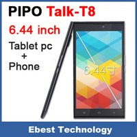 Wholesale Pipo Inch Tablet Phone - Wholesale-PIPO talk T8 3G phone call Tablet PC MTK6592 A7 Octa Core 6.44 inch 1920x1080 IPS 2GB RAM 32GB WCDMA WIFI Bluetooth Android 4.4