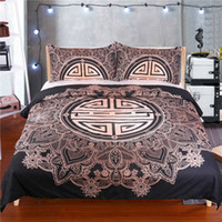Wholesale Cover Pillows China - China Traditional Fortune Bedding Sets Dovet Cover Pillow Shams Twin Full Queen King Size Bedspreads for Adults Teens Wedding Home Textiles