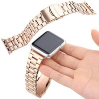 Wholesale Iwatch For Sale - 2015 Hot sale Luxury Stainless steel Fashional watch strap for Apple watch 38mm 42mm band for iwatch for steady man with Adapter connector