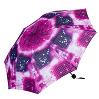 square sun umbrella - Personality Ultra light multicolour square grid protection fashion sunscreen sun umbrella anti uv umbrella women rain umbrella