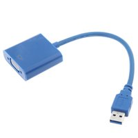 tarjeta de video vga al por mayor-2014 caliente !! Adaptador multipantalla USB 3.0 a VGA Tarjeta gráfica de video externa