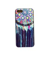 Wholesale Iphone Circle Case - Wholesale Colorful Circles Painting Charm Hard Plastic Mobile Phone Case Cover For iPhone 4 4S 5 5S 5C 6 6 Plus