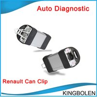 Wholesale Clip Diagnostic - 2017 Newly Version Renault CAN Clip V151 Diagnostic Interface Tool With Multi-Language DHL Free Shipping