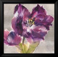 yağlıboya tablolar mor çiçekler toptan satış-Brent Heighton tarafından çağdaş sanat çiçek resimleri Mor Güzelleşmek tuval el boyalı yağlıboya yüksek kalite