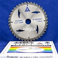 """Wholesale Tungsten Carbide Saw Tips - 7"""" x 40T x 1"""" Bore Woodworking Carbide Tipped Circular Saw Blades for Wood"""