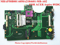 Wholesale Mb Ddr2 - Wholesale-Original laptop motherboard for acer aspire 8920G motherboard MBAP50B001 6050A2184601-MB-A02 DDR2 Fully tested&Free shipping