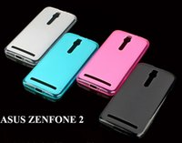 Wholesale zenfone ultra online - Ultra Thin Crystal Clear Matte Pudding Soft TPU Gel Skin Cover Case For Asus Zenfone C Zenfone2