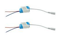 светодиодный драйвер питания трансформатора оптовых-BSOD Dimmable LED Driver выход 10 в (3-4)Вт постоянный ток внешний диммер источник питания LED Pannel Light потолочный светильник выпрямитель трансформатор