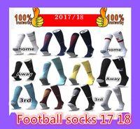 Wholesale Sporting Football Club - 2017 2018 adult kids psg Real Madrid football socks Other club team socks we have inventory Sport socks