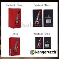 kangertech subtank nano original achat en gros de-Kanger Subtank Plus atomiseur Kangertech Sutank Mini Sutank Nano Clearomiseur E-cigarette Kanger Kbox 40W Ecigarette Mod 100% Original