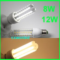 Wholesale u shaped lamp - CE RoHS listed U shape bulb 8w 12w corn bulb energy saving led bulb 2u 3u corn lamp U shape LED bulb
