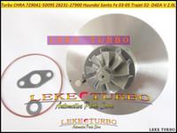 Wholesale Turbocharger For Hyundai - Turbocharger Cartridge Turbo CHRA GT1749V 729041 28231-27900 729041-5009S 729041-0009 for HYUNDAI Santa Fe 03-05,Trajet 02- D4EA-V 16V 2.0L