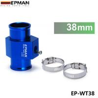 Wholesale Aluminum Gauges - Tansky - Universal EPNAM Water Temp.Gauge Use a Commercial sensor attachment (38mm) EP-WT38 Aluminum HQ product