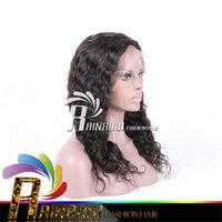 Wholesale Half Head Curly Wigs - Free shipping curly wigs for black women front lace human hair wigs lace wigs human very thick end full head no shedding