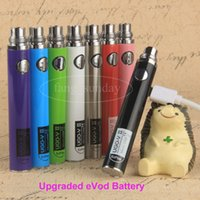 Wholesale Ego V Passthrough - Vape Pen Battery eCigarette eGo T Passthrough batteries 650 900mAh Ugo V II Ugo T Micro USB Battery for Ecig atomizer
