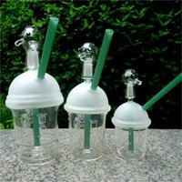 Buck Stella Vetro Tubo Acqua Tubi Fashion Clear Cupola Spessa Fumo Bong Buon Custom Cool Bongs bong-GB006